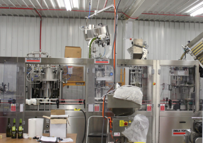 Contract Bottling Services at Texas Custom Wine Works
